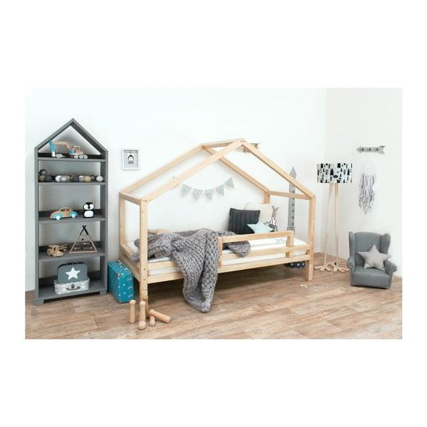 Dětská postel z lakovaného smrkového dřeva Benlemi Sidy, 120 x 170 cm