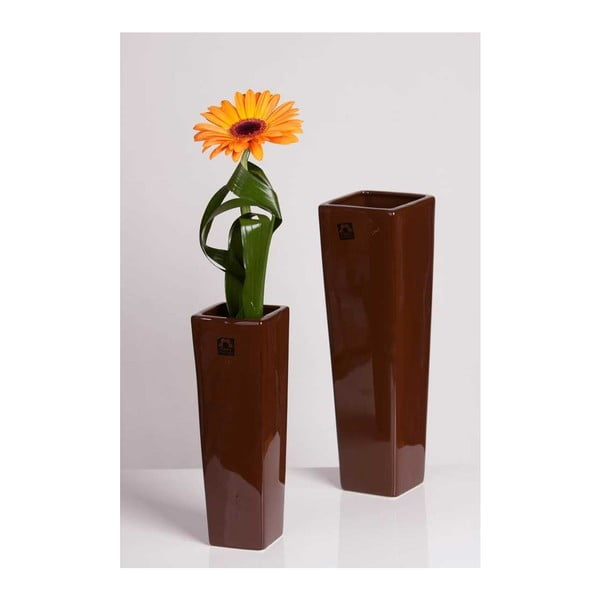 Váza Saona Hnědá, velká