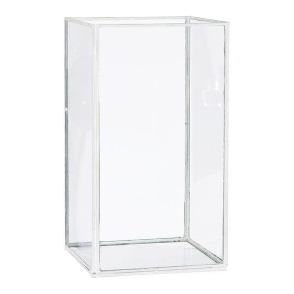 Lucerna/váza Cube, výška28cm