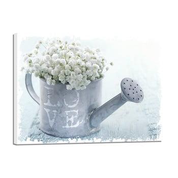 Tablou Styler Canvas Shabby White Love, 32 x 42 cm de la Styler