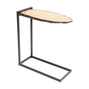Odkládací stolek z dubového dřeva Kare Design Merende
