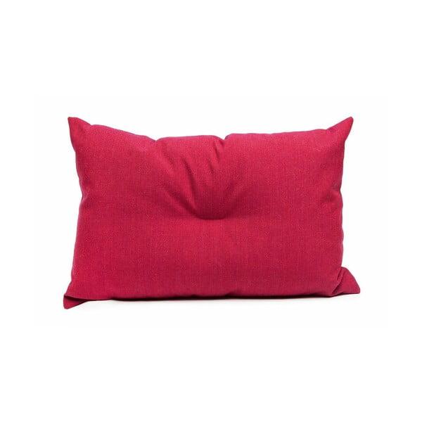 Vlněný polštář Crips, červený