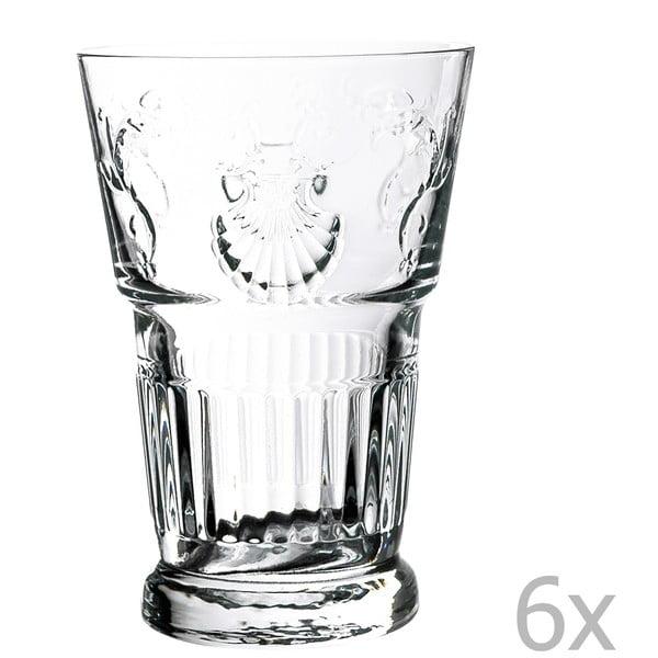 Sada 6 sklenic Versailles, 400 ml