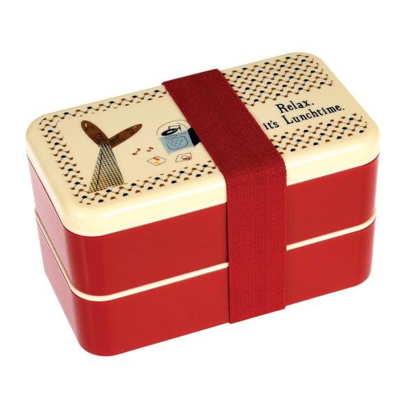 Obědový box s příborem Rex London Modern Man