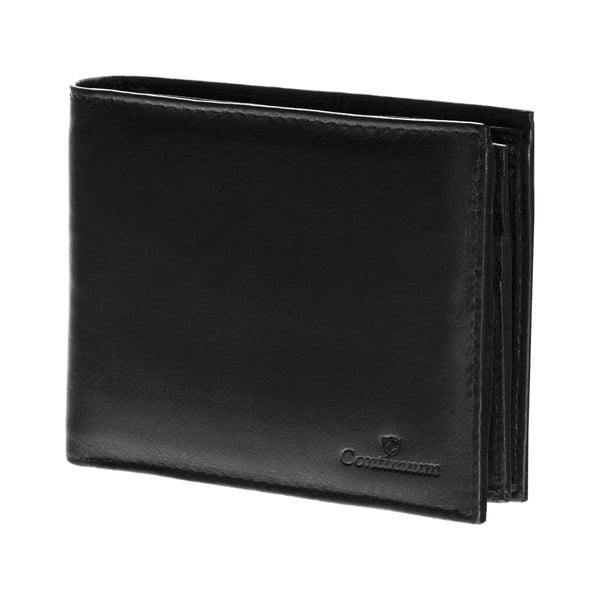 Kožená peněženka Continuum 1511, jednoduché prošívání