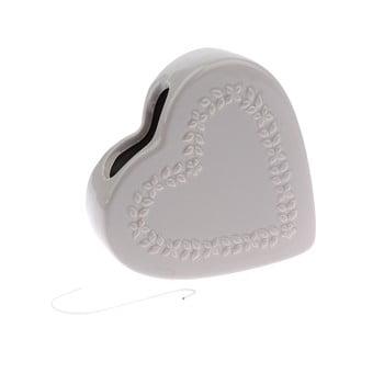 Umidificator aer din ceramică Dakls Heart, gri de la Dakls