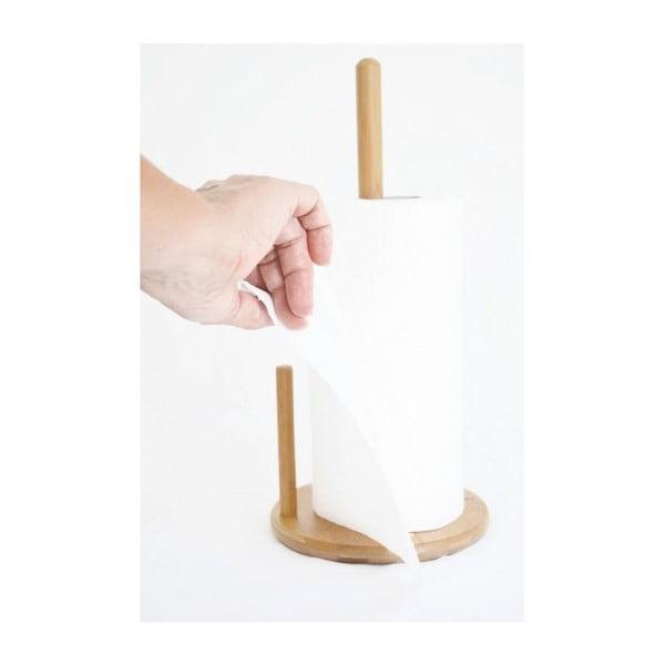 Bambusový držák na kuchyňské ubrousky Bambum Cornetti