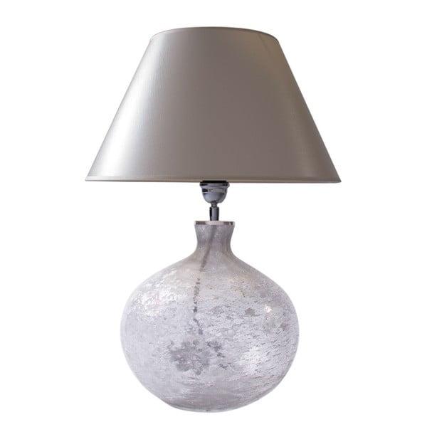 Stolní lampa Mléčné sklo