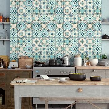 Set 30 autocolante Ambiance Cement Tiles Franzy 10 x 10 cm