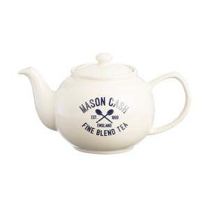 Bílá konvice na čaj Mason Cash Varsity, 1.1 l