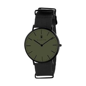Tmavě zelené pánské hodinky Black Oak Armo
