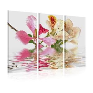 Vícedílný obraz na plátně Artgeist Orchid, 120x80cm
