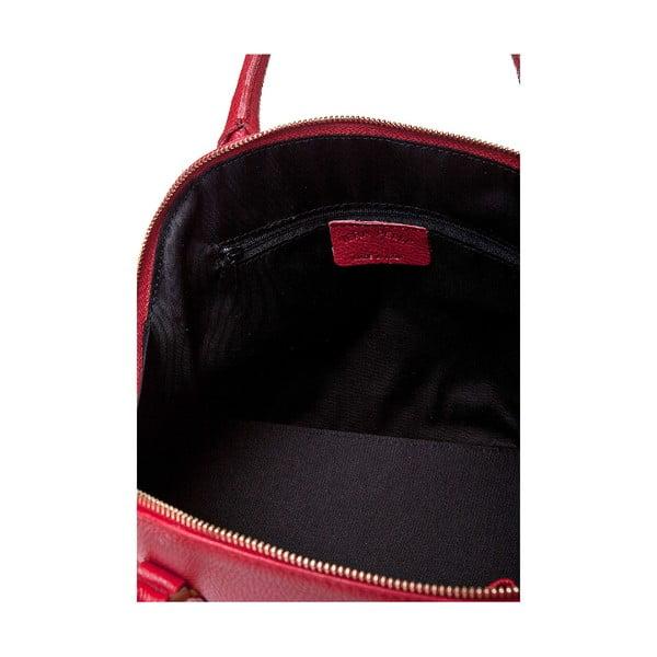 Kožená kabelka Giorgio Costa 15021 Bordo