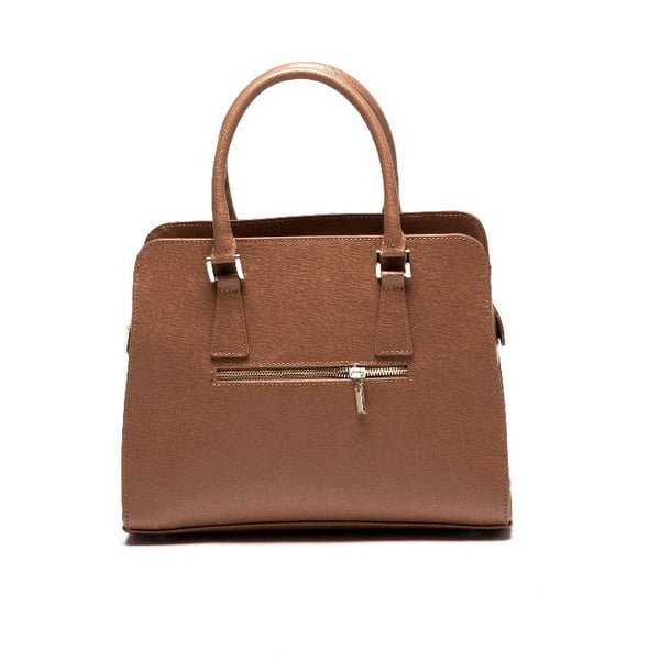 Kožená kabelka Isabella Rhea 427 Cognac