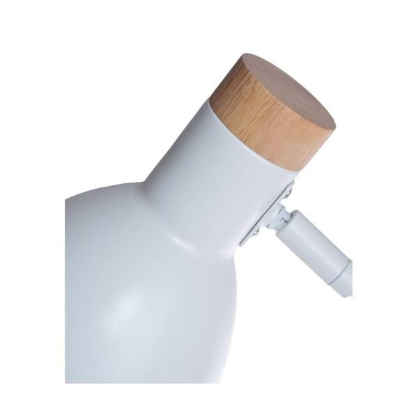 Bílá stolní lampa Ewax Woody
