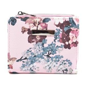 Světle růžová dámská peněženka Roberta M Rasmina