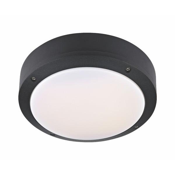 Černé stropní svítidlo Markslöjd Luna, ø 22 cm