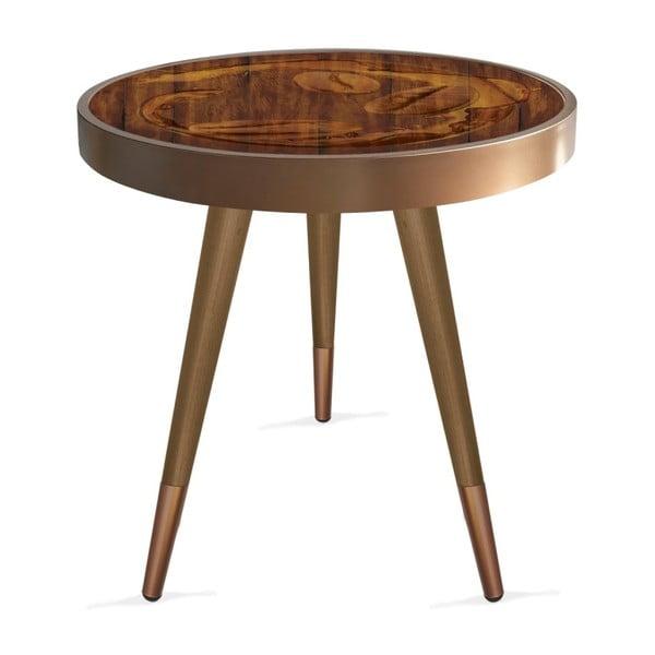 Příruční stolek Rassino Coffee Beans Circle, ⌀ 45 cm