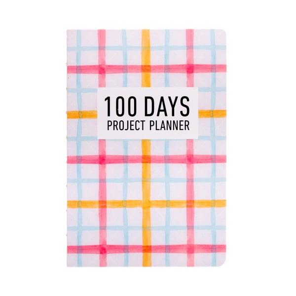 Plánovač Languo 100 Days Pattern, barevný