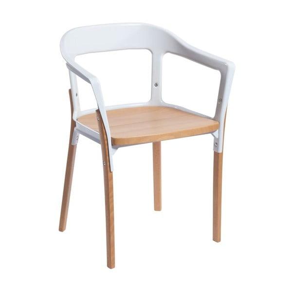Židle Silla Retro White