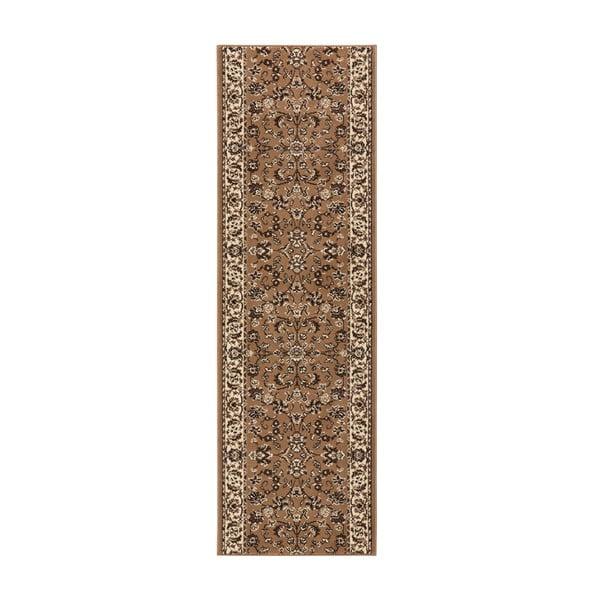 Koberec Basic Vintage, 80x200 cm, světle hnědý