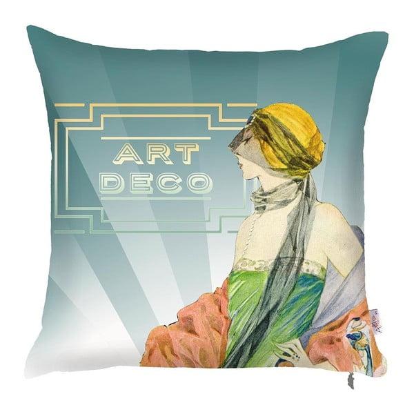 Față de pernă Art Deco, 43 x 43 cm