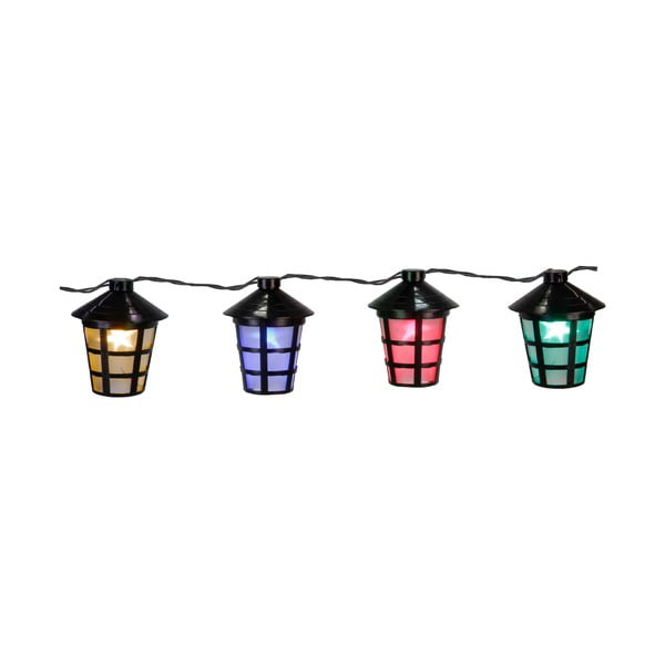 Světelný řetěz Party Lanterns, barevný
