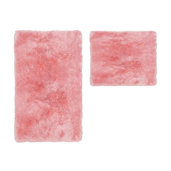 Sada 2 koupelnových předložek Spotlight Pink