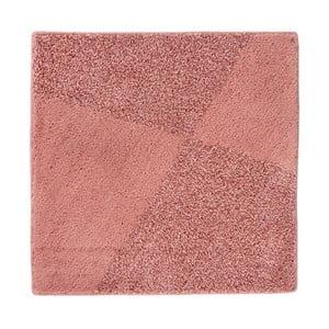 Pudrově růžová koupelnová předložka Aquanova Damio, 60x60cm
