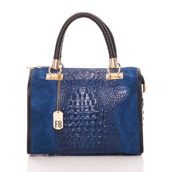 Kožená kabelka Bowling Blue