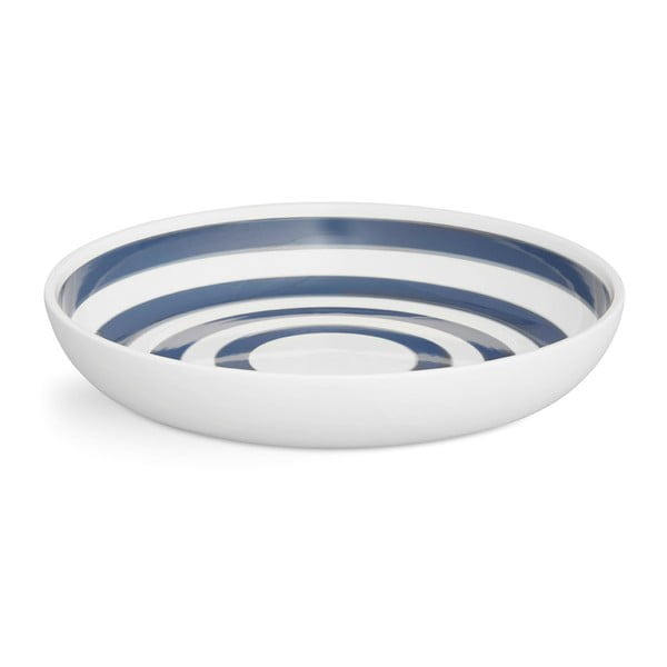 Farfurie din ceramică Kähler Design Omaggio, ⌀ 30 cm, albastru - alb