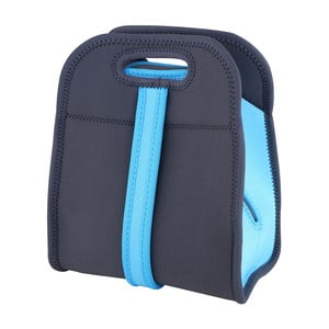 Modrá svačinová taška Bergner Walking