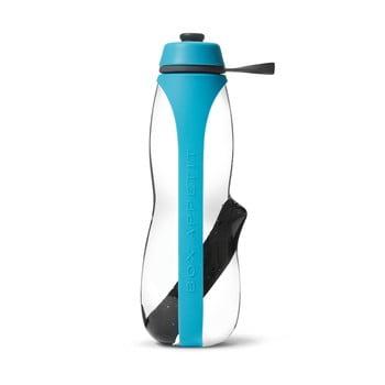 Sticlă sport cu filtru și cărbune binchotan Black + Blum Eau Good Duo, 700 ml, albastru de la Black + Blum