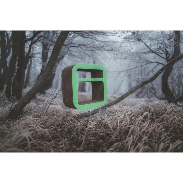 Kartonový noční stolek/police Kartoons, přírodní