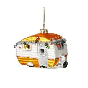Vánoční závěsná ozdoba ze skla Butlers Karavan