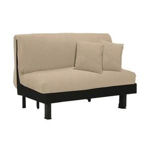 Canapea extensibilă cu 2 locuri 13Casa Lillo, crem