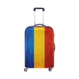 Obal na kufr Oyo Concept Rumunská vlajka, 76 x 49 cm