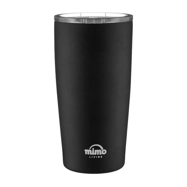Matně černý nerezový termohrnek Premier Housewares Mimo,550ml