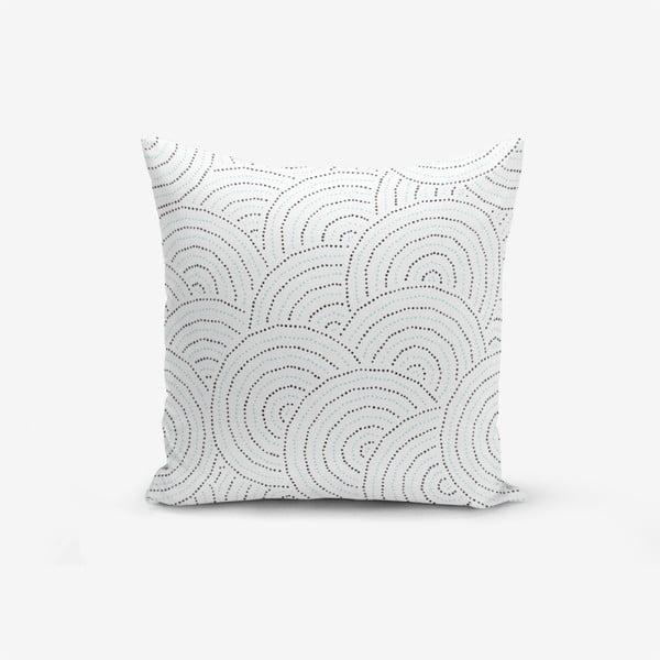 Față de pernă cu amestec din bumbac Minimalist Cushion Covers Ring Modern Razza, 45 x 45 cm