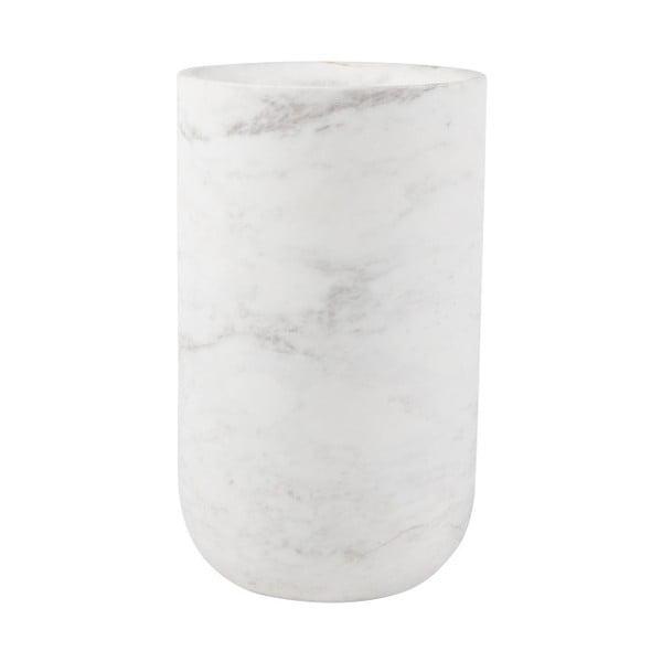 Vază din marmură Zuiver Fajen, alb