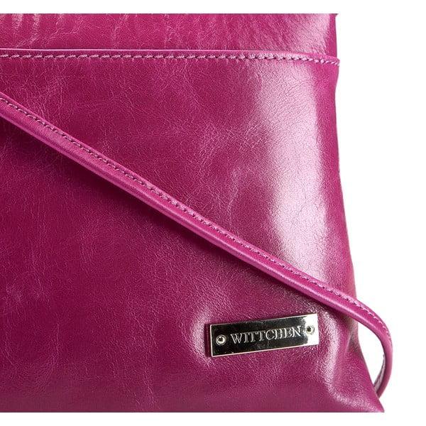 Kožená kabelka Elegance Cruiser Purple