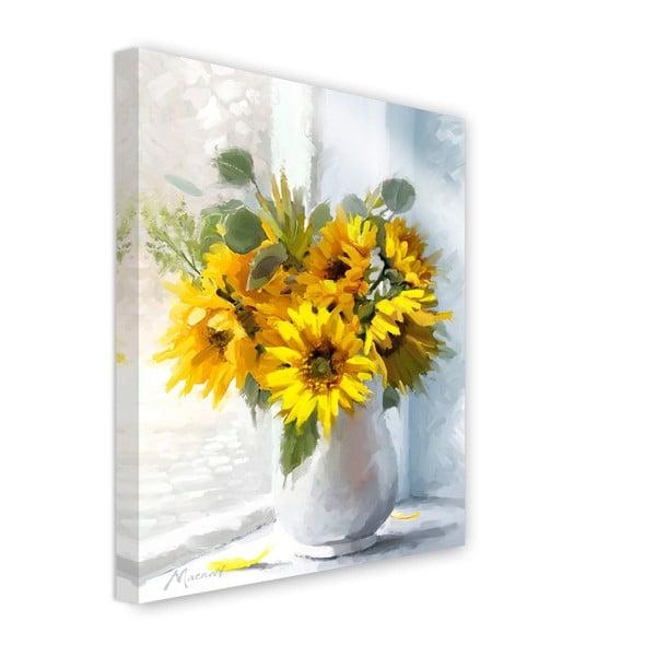 Obraz Styler Canvas Flowers Sunflowers, 60 x 80 cm