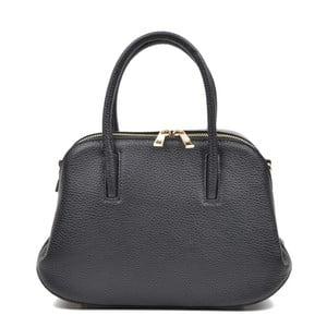 Černá kožená kabelka Mangotti Marion