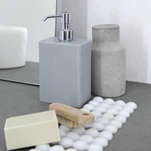 Adhezivní zásobník na mýdlo Ivasi Dispenser, světle šedá