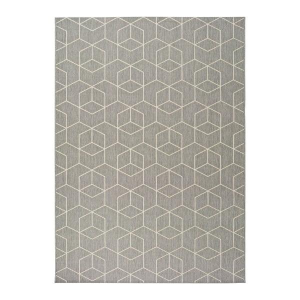 Sivý vonkajší koberec Universal Silvana Gusmo, 160 x 230 cm