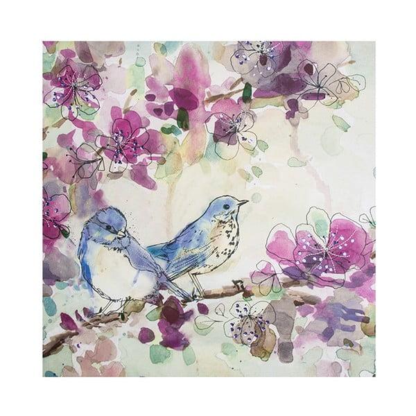 Tablou Graham & Brown Spring Birds, 60x60cm