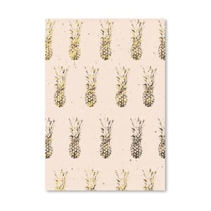 Poster Americanflat Pineapples, 30 x 42 cm