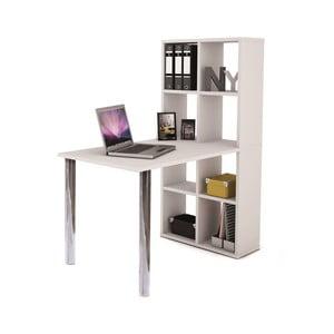 Pracovní stůl s knihovnou 13Casa Light