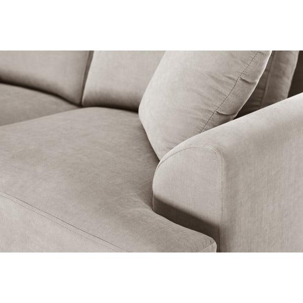Trojdílná sedací souprava Jalouse Maison Irina, taupe