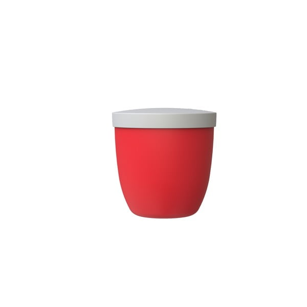 Červená svačinová dóza Rosti Mepal Ellipse, 500ml